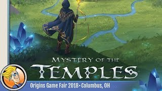 Mystery of the Temples — game preview at Origins 2018