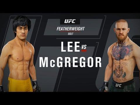 EA Sports UFC 3 - Bruce Lee Vs Conor McGregor - Gameplay (HD) [1080p60FPS]