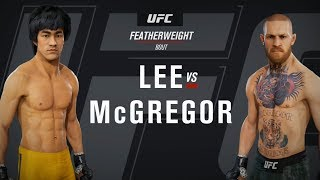 EA Sports UFC 3 - Bruce Lee vs Conor McGregor - Gameplay (HD) [1080p60FPS]