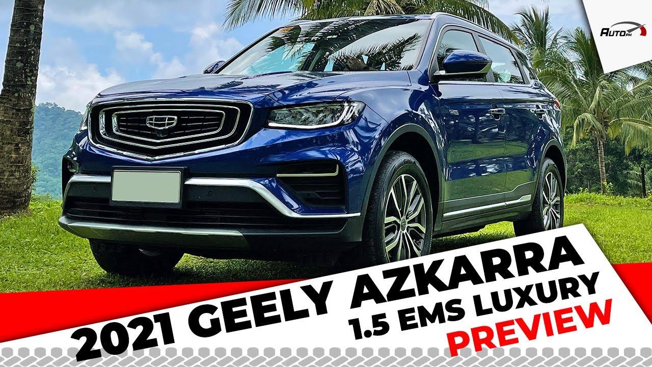 2021 Geely Azkarra 1.5 EMS Luxury - AutoPH Preview