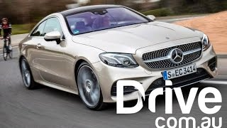 2017 Mercedes-Benz E-Class Coupe New Car Review | Drive.com.au