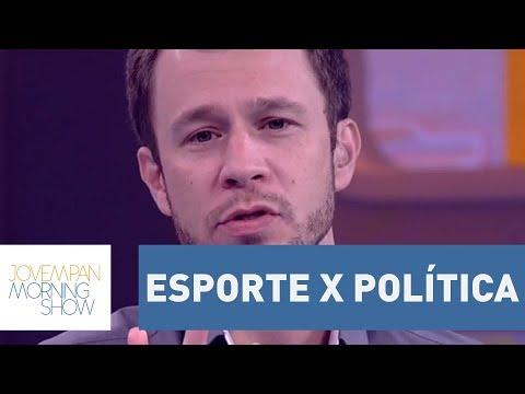 Bancada Discorda De Tiago Leifert No Debate Esporte X Política