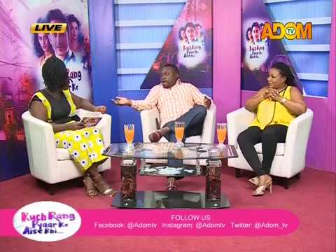 Kuch Rang Chat Room - AdomTV (23-5-18)