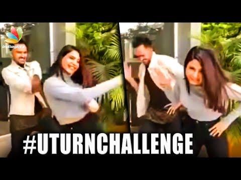 Samanth's U-Turn challenge | Dares celeb's & Fans | The Karma Theme