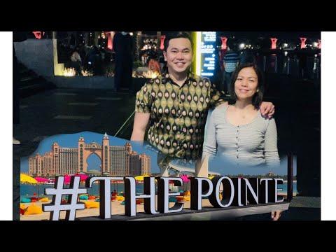 #The Pointe Palm Dubai vlog | Dancing fountain Guinness world record 2020