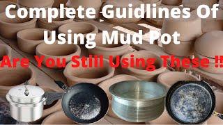 ಮಣ್ಣಿನ ಮಡಿಕಿನ ಎಲ್ಲಾರು ಬಳಸಬಹುದ ರೀ Practical Tricks & Tips of Using Mud Pots|Middle Class Cooking