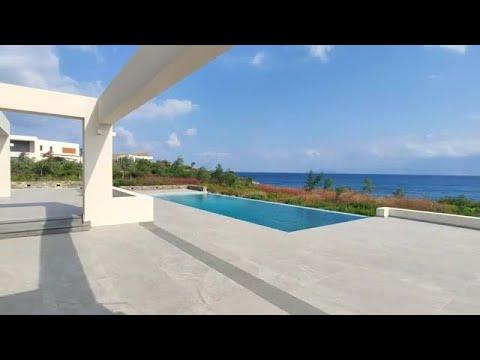Luxury sea front villa for sale, Crete