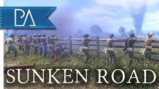 FOR DIXIELAND: Glorious Defense of Sunken Road - War of Rights Gameplay