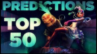 LoL TOP 50 PREDICTIONS | Dat Jinx