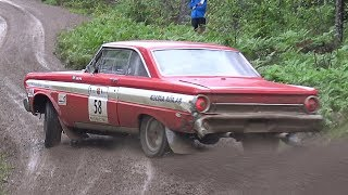 Ford V8 Rallying! Pure engine sound!