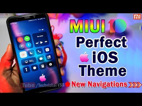 Top No1 iOS Theme For MIUI 10 in Any Xiaomi Devices | Most Awaited