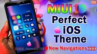 Perfect no1 ios theme for miui 10