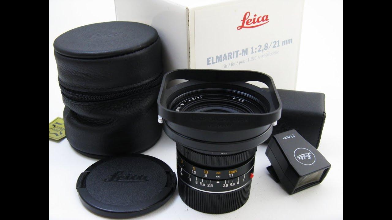 Leica ELMRIT-M 21mm/f2 8 #371**** + 21mm Finder 12012