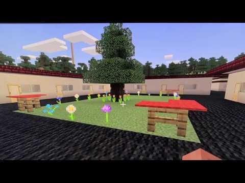 Stratford School Los Gatos Campus built in Minecraft