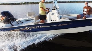 2016 Xpress SW20 bay boat on Lake Bryant