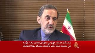 إيران تعتبر بقاء الأسد في منصبه خطا أحمر