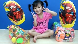 Surprise Eggs Opening Toys For Kids ❤ Anan ToysReview TV ❤