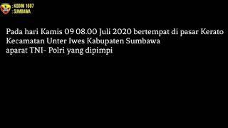 TNI Polri & Rakyat Jangan Lengah Corona Masih Ada