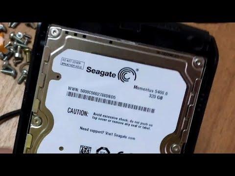 Как вскрыть внешний жесткий диск