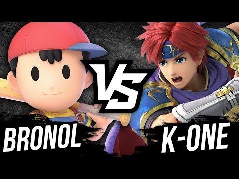 ROY FAIT HYPER MAL ! (Bronol VS K-One) - Super Smash Bros Ultimate thumbnail
