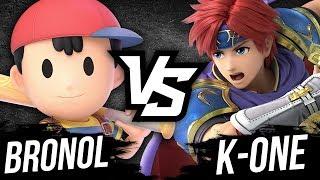 ROY FAIT HYPER MAL ! (Bronol VS K-One) - Super Smash Bros Ultimate