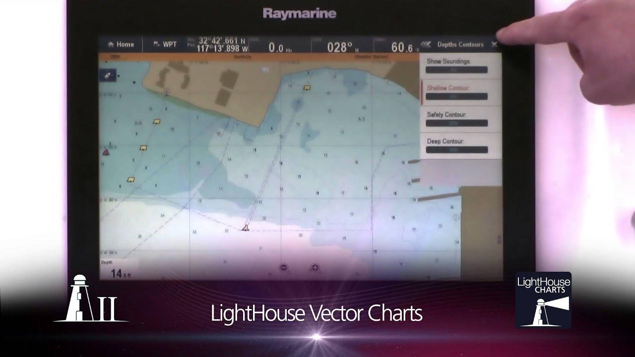 LightHouse™ II Update for Raymarine Multifunction Displays