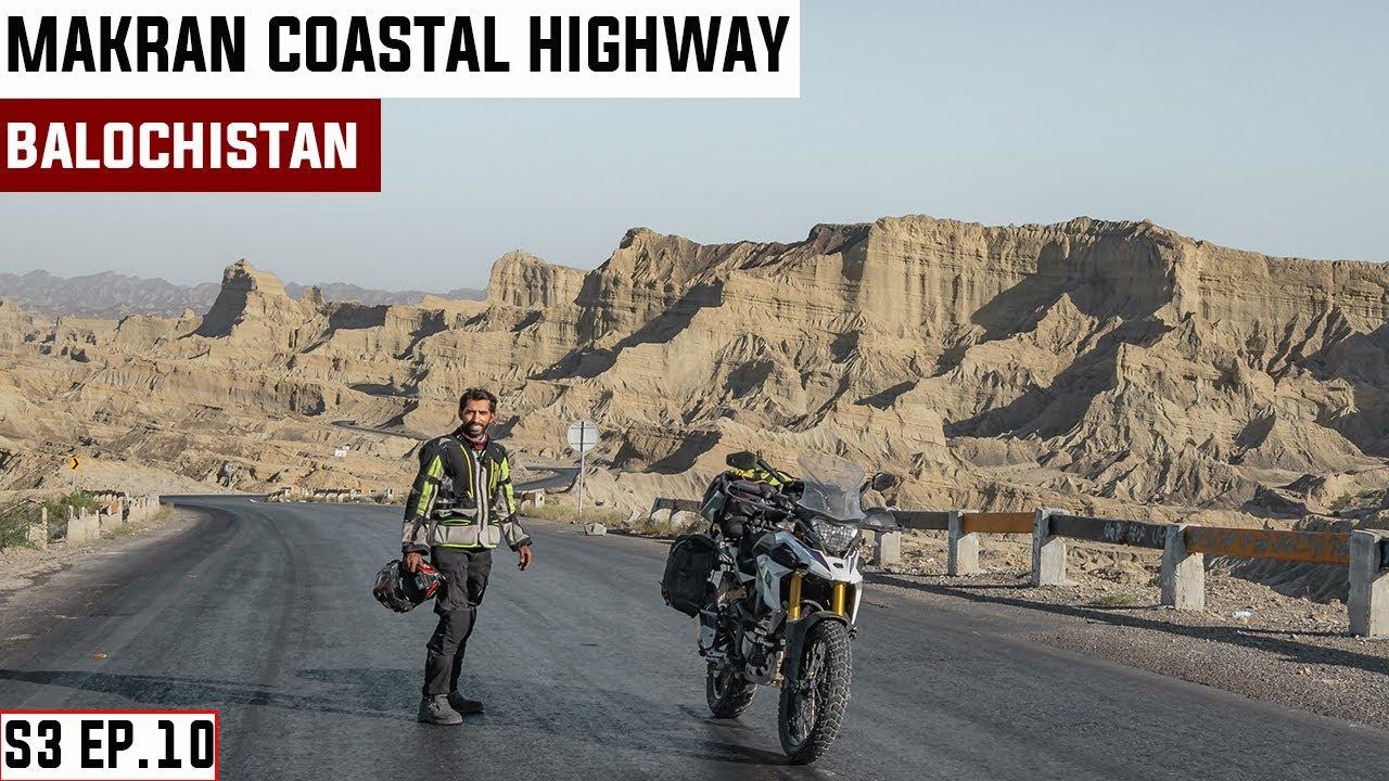 Download The LEGENDARY Makran Coastal Highway and STUNNING Hidden Beach S03.EP.10 | PAKISTAN MOTORCYCLE TOUR