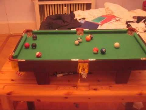 MINI POOL TABLE YouTube - 40 inch pool table