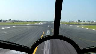 B29 Takeoff from Charlotte Douglas Airport