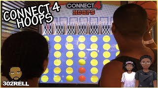 Connect 4 Hoops Arcade Basketball Redemption Game