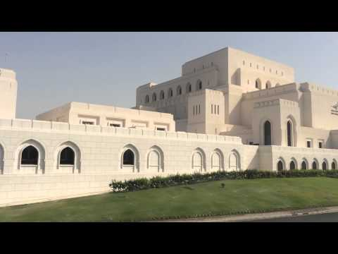 The Magnificent of the Royal Opera House Muscat