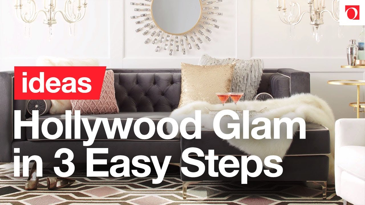 3 Easy Steps to Hollywood Glam Style – Overstock.com