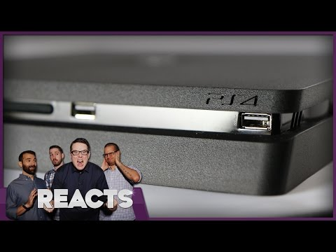 The PS4 Slim - Kinda Funny Reacts