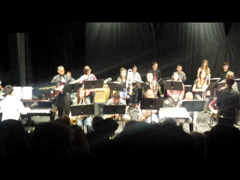 Turlock Junior High School Jazz Band 2of3 - November 2014
