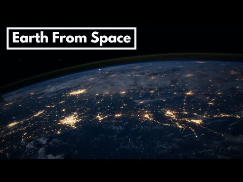Earth From Space | Full HD Video | Short Animation Never Seen Before