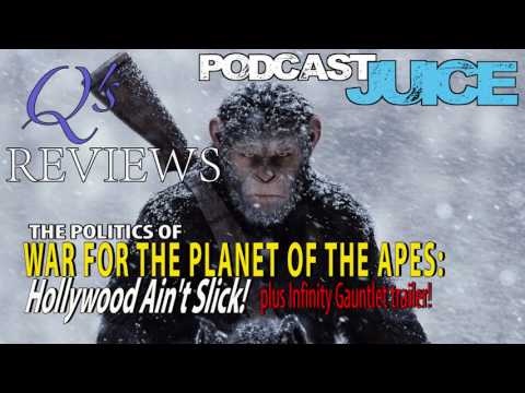 POLITICS OF WAR FOR THE PLANET OF THE APES:HOLLYWOOD AIN'T SLICK!