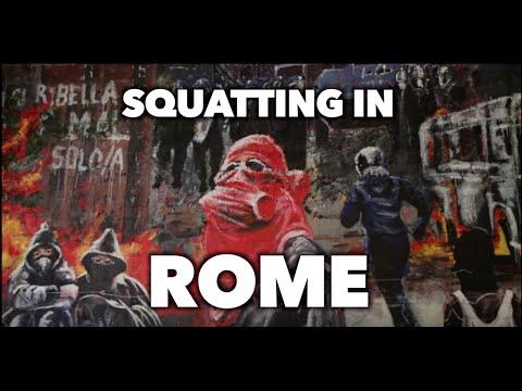 Squatting in Rome
