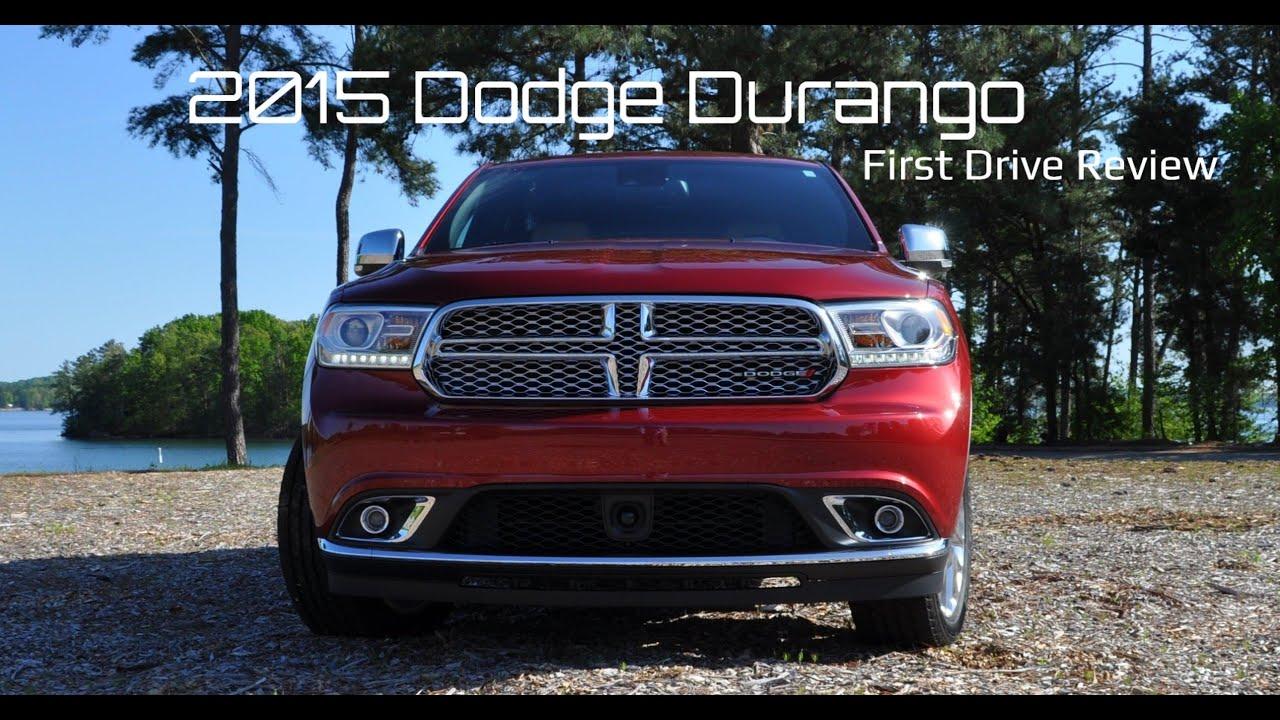 2015 dodge durango citadel 3 6l awd 4k road test review youtube. Black Bedroom Furniture Sets. Home Design Ideas