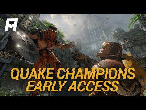 Quake Champions Early Access Stream