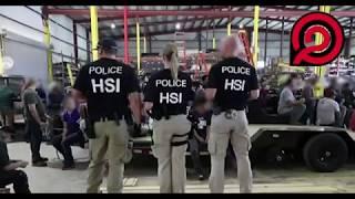 Redada en texas de ICE, 160 personas fueron arrestadas