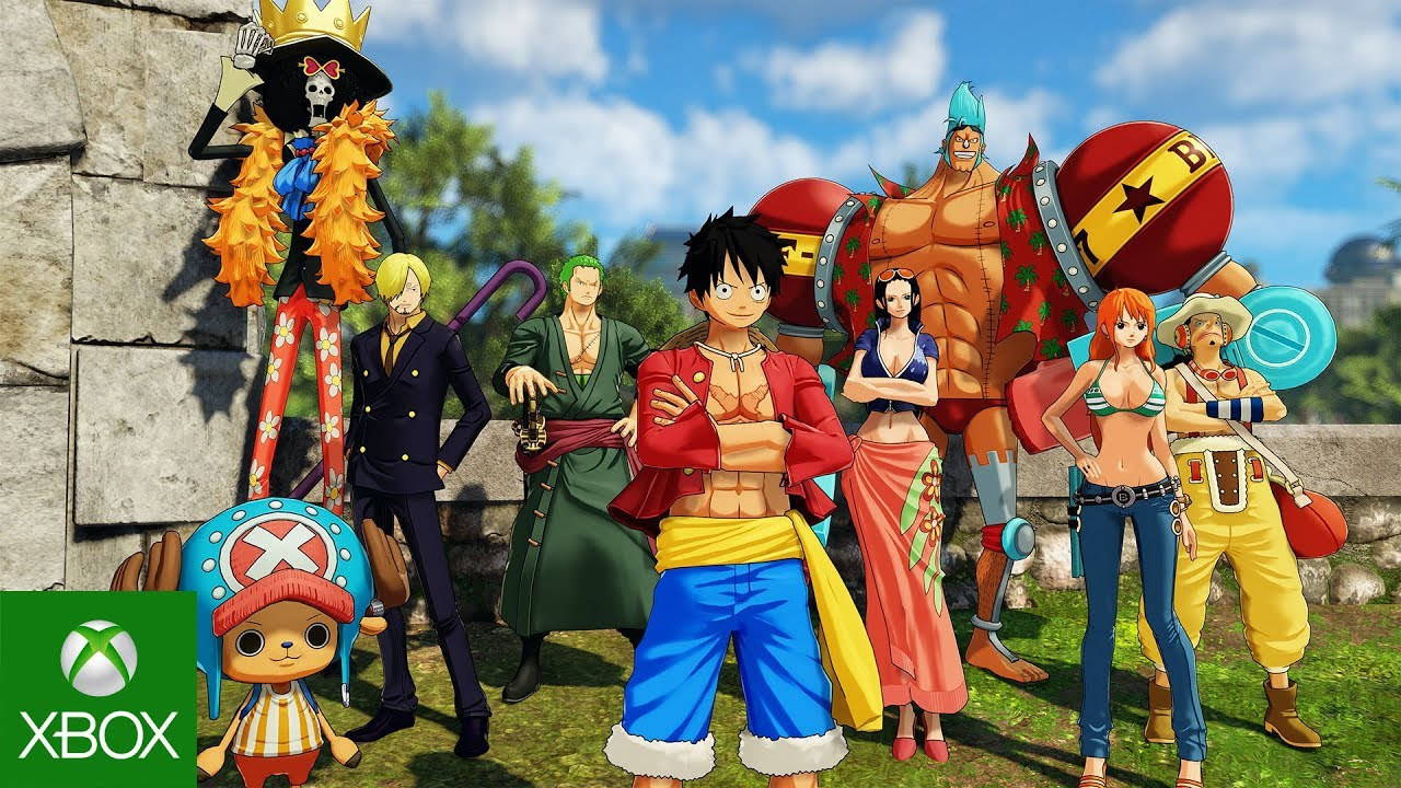 One Piece World Seeker: Story Trailer