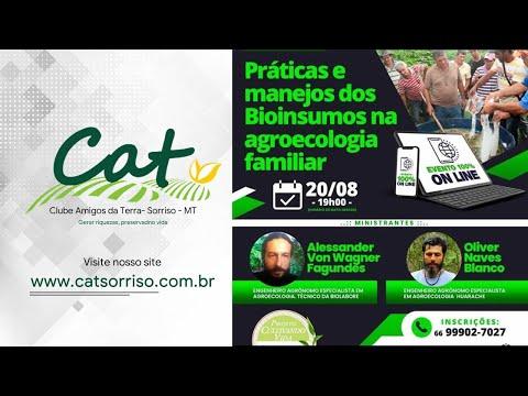 Projeto Cultivando Vida Sustentável - Práticas e manejos dos Bioinsumos na agroecologia familiar