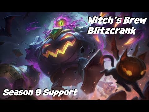 League of Legends: Witch's Brew Blitzcrank Gameplay