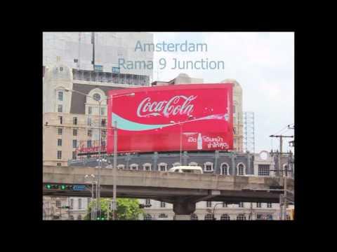 amsterdam LED Billboard ป้ายโฆษณา LED