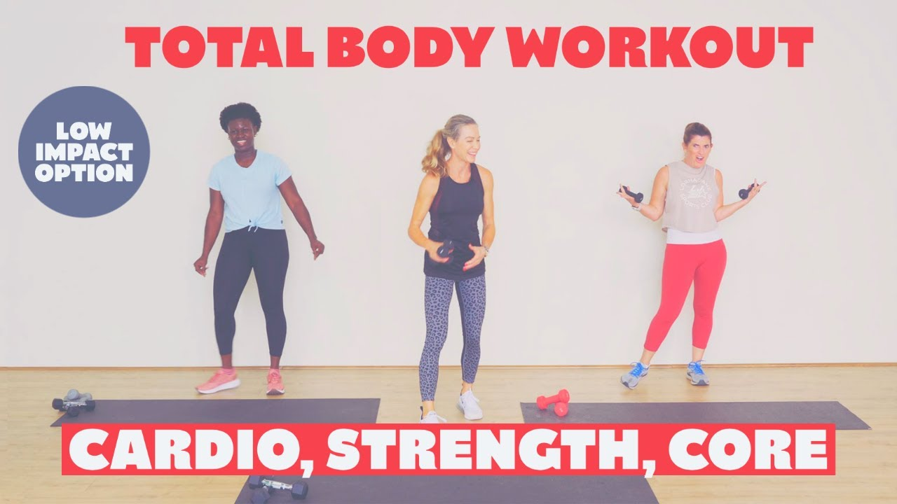 Intermediate/advanced total body resistance and cardio workout