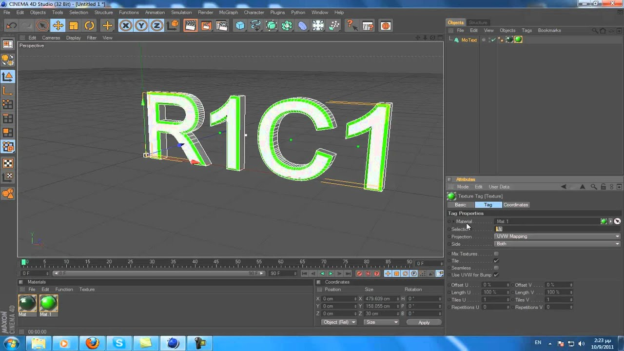 Cinema 4D | basic Lesson | Difference between R1 & C1
