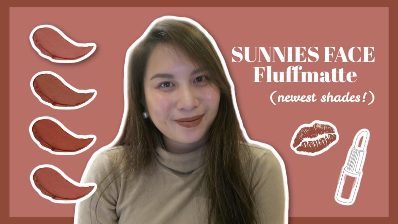 NEW SHADES NG FLUFFMATTES! | Sunnies Face Nude-ish