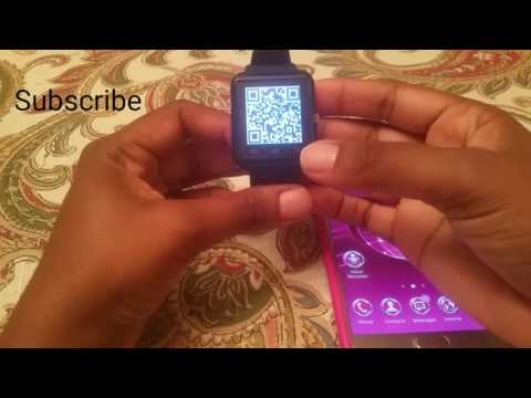 U8 Smart Watch connecting to Android phones and IPhone