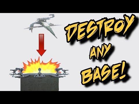 Destroy Any Base - Suicide Quetz - Ark Survival Evolved