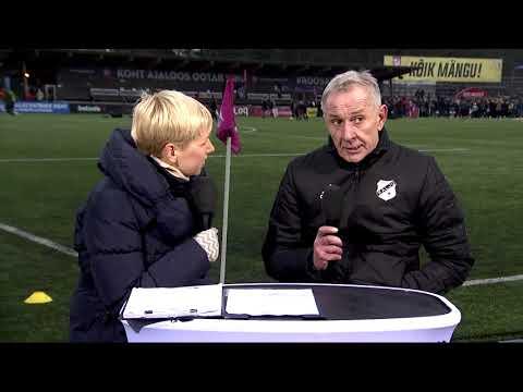 36. voor 2018: Nõmme Kalju FC - JK Narva Trans 4:1 (2:0) Frantsevi intervjuu